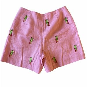 Jade melody linen shorts size 6